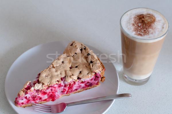 Groselha prato garfo café verão Foto stock © franky242