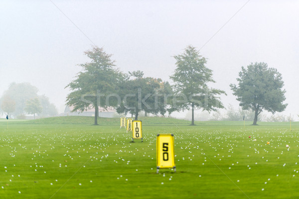 Driving range Stock photo © franky242