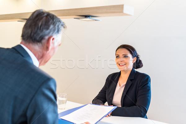 Job interview Stock photo © franky242