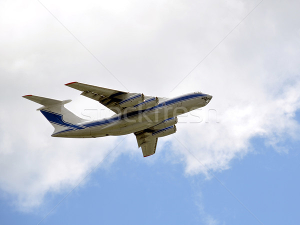 ładunku samolot niebo Zdjęcia stock © franky242