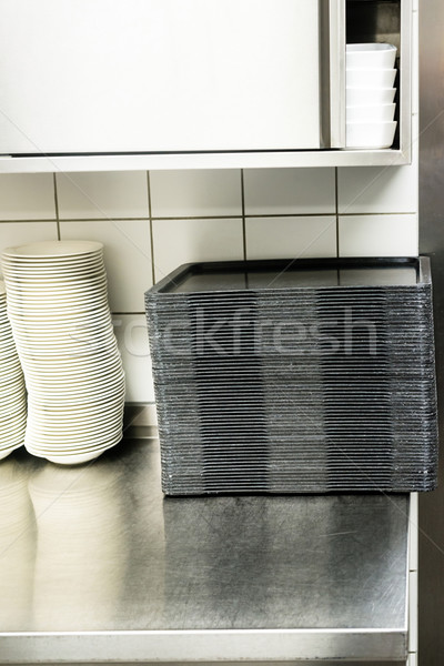 large canteen kitchen Stock photo © franky242