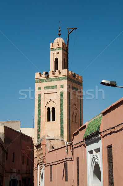 Small Mosque In Marrakech Stock photo © franky242