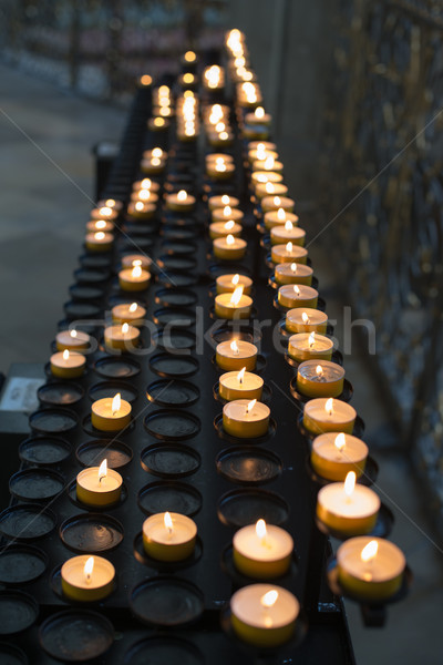 Prayer candles Stock photo © franky242