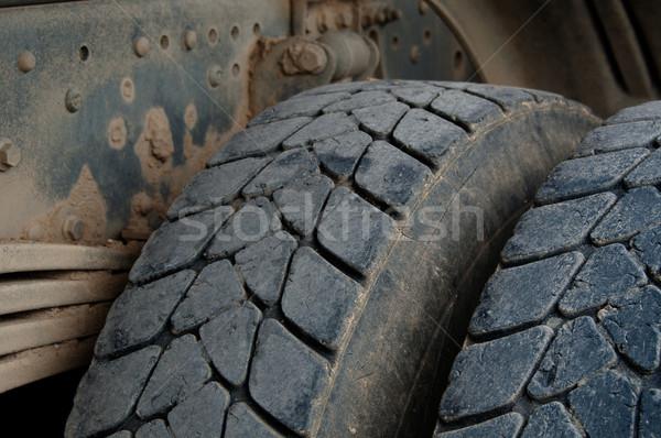 Dump Truck Tires Stock photo © franky242