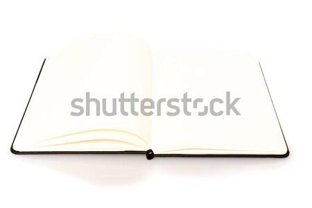 Caderno espaço texto abrir branco negócio Foto stock © franky242