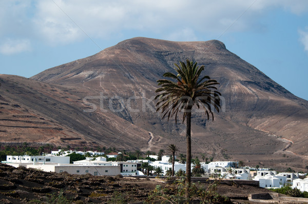 Yaiza on Lanzarote, Canary Islands, Spain. Stock photo © franky242