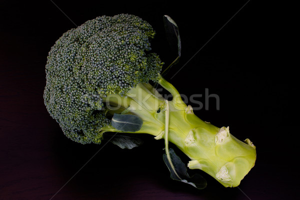 Fresh raw green broccoli Stock photo © franky242