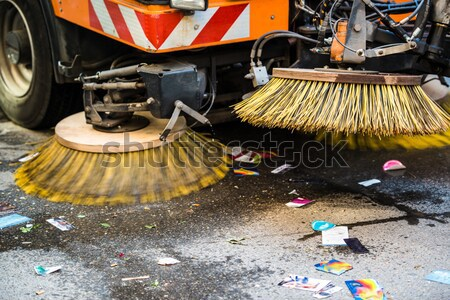 street sweeper machine/car Stock photo © franky242