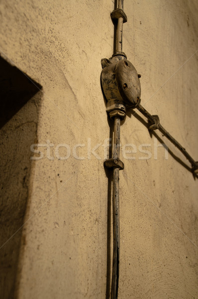 Old electric equipment Stock photo © franky242