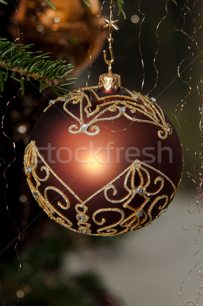 Decorativo natal enforcamento pinho Foto stock © franky242