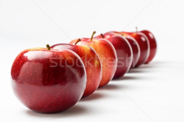 Diagonal Apple Row Stock photo © frannyanne
