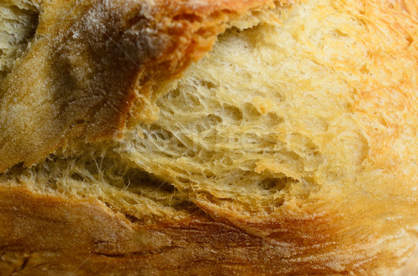 Close up of Bread Loaf Crust Stock photo © frannyanne