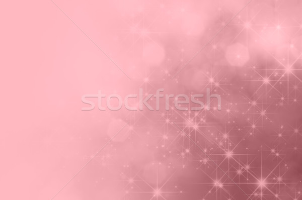 Pink Star Fade Background Stock photo © frannyanne