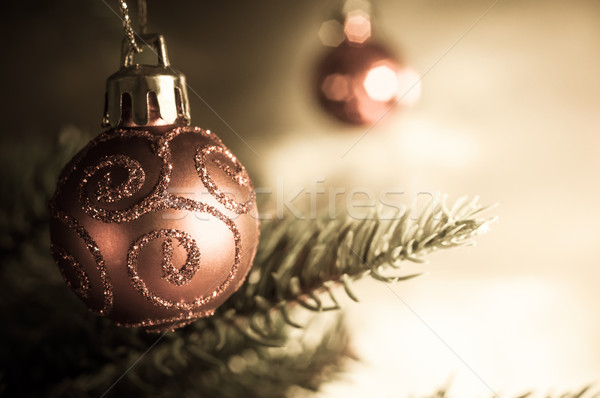 Christmas Tree Bauble Stock photo © frannyanne