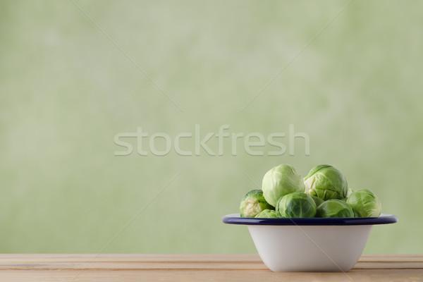 エナメル パン 生 料理 錫 ストックフォト © frannyanne