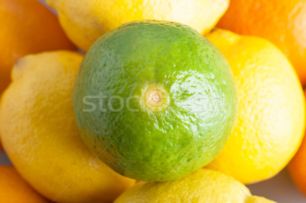 Lime and Citrus Fruits Stock photo © frannyanne