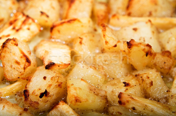 Roast Potatoes and Parsnips Stock photo © frannyanne