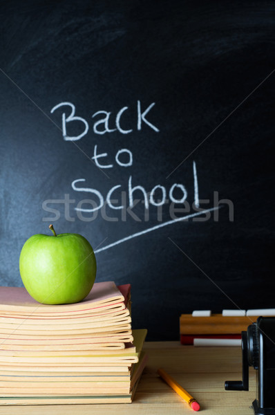 Back to School Blackboard Stock photo © frannyanne