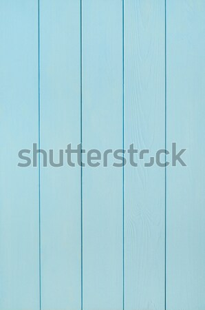 Blady niebieski drewna deska język Zdjęcia stock © frannyanne