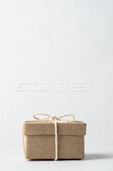 закрыто окна лук строку простой коричневый Сток-фото © frannyanne