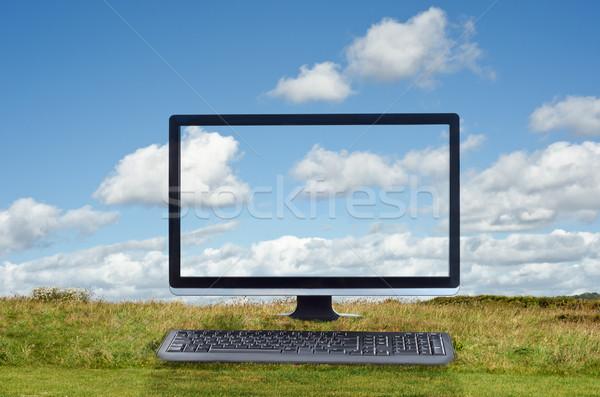 Cloud Computing Outdoor Scene Stock photo © frannyanne