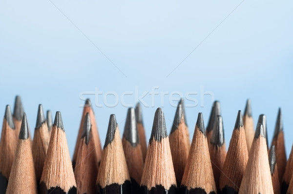 Upright Graphite Pencils Stock photo © frannyanne