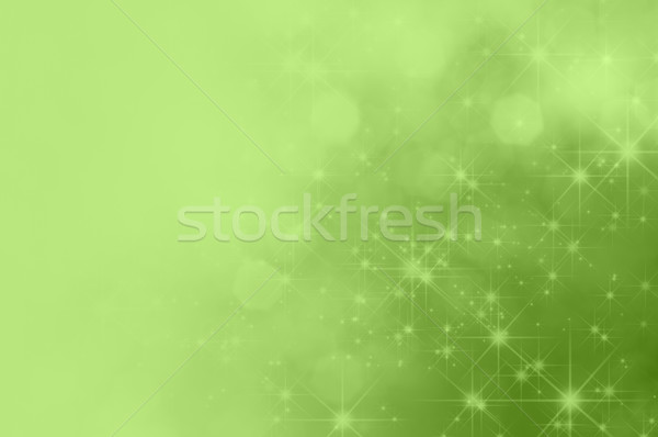 Green Star Fade Background Stock photo © frannyanne