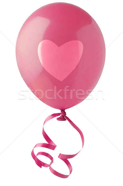 Valentines Love Heart Balloon Stock photo © frannyanne