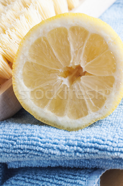 Natural Cleaning with Lemon Stock photo © frannyanne