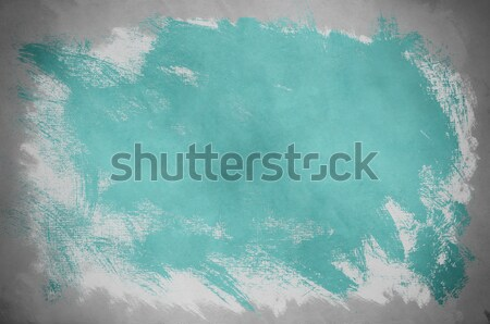 Abstract Turquoise Paint Background Stock photo © frannyanne