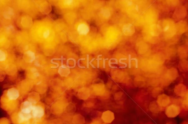 Vermelho amarelo explosivo bokeh macio Foto stock © frannyanne