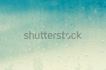 Raindrops on Window Background Blur Stock photo © frannyanne