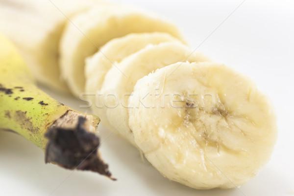 Sliced Banana and Banana Stalk Stock photo © frannyanne