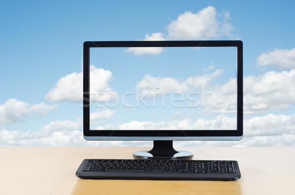 Cloud Computing Stock photo © frannyanne