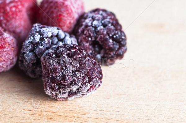Frozen Berry Fruits Stock photo © frannyanne