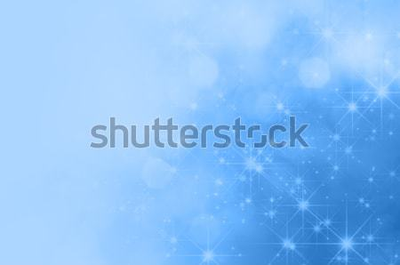 Blue Star Fade Background Stock photo © frannyanne
