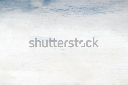 Painted Wood Plank Background in Weathered White and Blue Stock photo © frannyanne