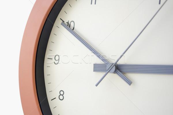 Clock face - Ten to Three Stock photo © frannyanne
