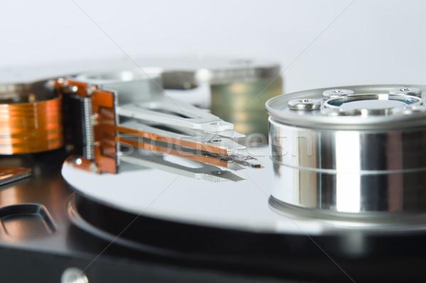 Open Hard Disk Mechanism Stock photo © frannyanne