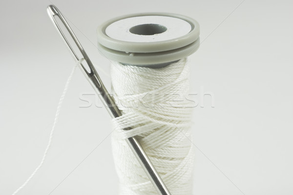 Needle and Cotton Reel Stock photo © frannyanne