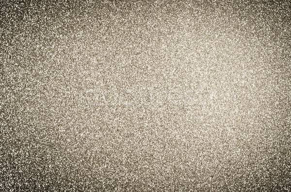 Gold Glitter Texture Background with Vignette Stock photo © frannyanne