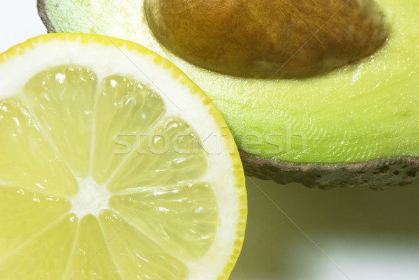 Stock photo: Avocado and Lemon