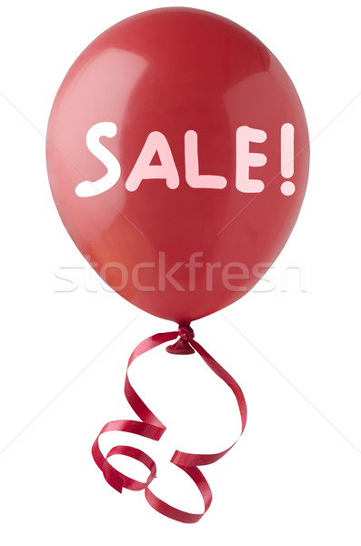 Red Sale Balloon Stock photo © frannyanne