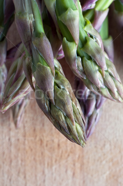 Asparagus Spears - Vertical Stock photo © frannyanne
