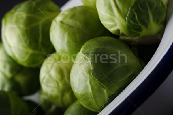 エナメル 錫 緑 白 ストックフォト © frannyanne