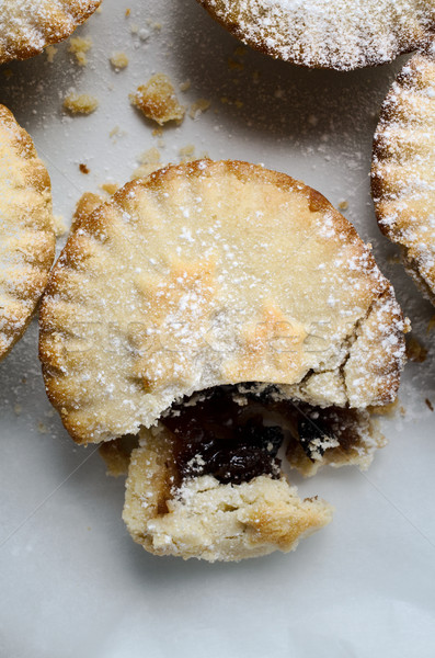 Christmas Mince Pies from Above Stock photo © frannyanne