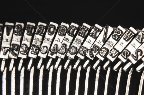 тип старые механический машинку письма Сток-фото © frannyanne