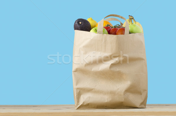 Fruit Shopping Bag  Stock photo © frannyanne