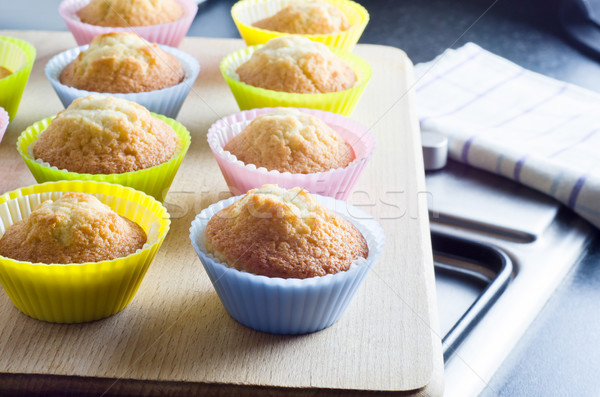 Freshly Baked Cupcakes Stock photo © frannyanne