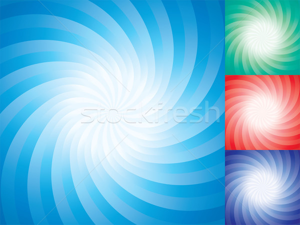 vector set of abstract star burst backgrounds  Stock photo © freesoulproduction